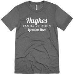 Family Vacation Custom Tees for Everyone