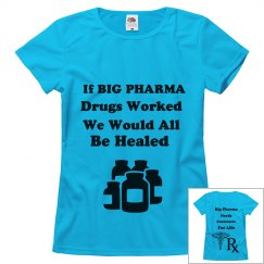 If Big Pharma Drugs Worked...
