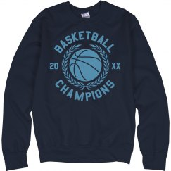 Custom Champions Basketball Sweater