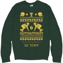 Custom Ugly Football Team Sweater