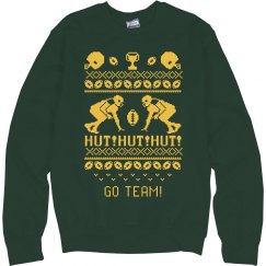 Custom Ugly Football Team Sweater