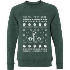 Custom Text Spaceship Sweater