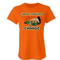 Change - Tee orange