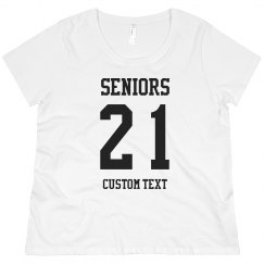 Custom Seniors Plus Tee