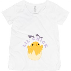 My New Lil' Chick Maternity Shirt