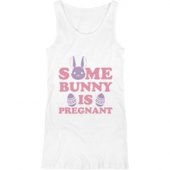 Some Bunny Is Pregnant Tank