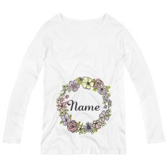 Custom Easter Long Sleeve Maternity