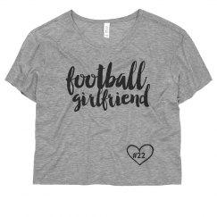 Football Girl Heart