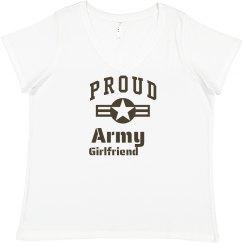 Loud & Proud Army Girlfriend