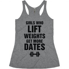 Funny Fitness Girls Who Lift Tee