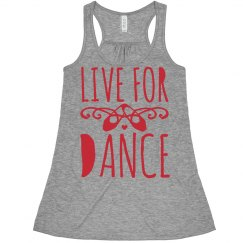 I Live For Dance Crop Top