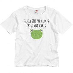 A Girl Who Loves Frogs & Cakes