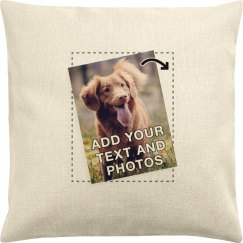 Custom Photo Upload Pillow