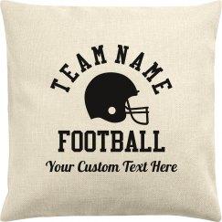 Fall Football Mom Custom Team Gift