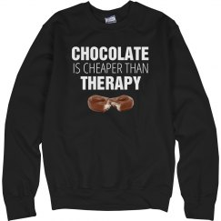 Chocolate Is My Therapy