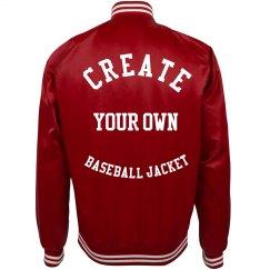 Create Your Own Baseball Jacket