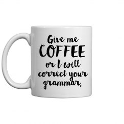 Coffee And Grammar