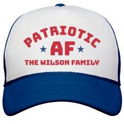 Patriotic AF July 4th Family Custom