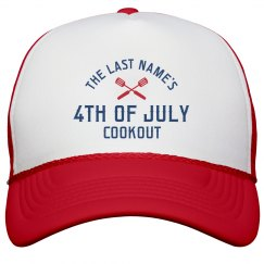 Personalized Fourth Of July Family