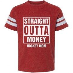 Straight outta money Hockey mom