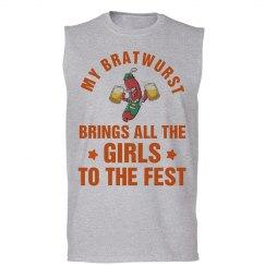 Oktoberfest Girls Like My Bratwurst