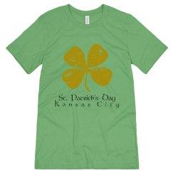 KC Green Clover - St. Patrick's Day - ultrasoft