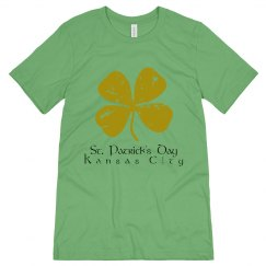 KC Green Clover - St. Patrick's Day - ultrasoft