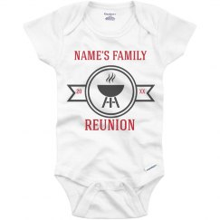 Custom Infant Family Summer Reunion
