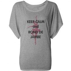 Keep Calm Rond de Jambe
