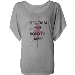 Keep Calm Rond de Jambe