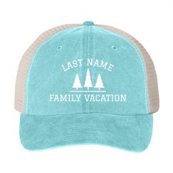Custom Family Vacation Matching Hats