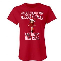 tshirt merry fitmas