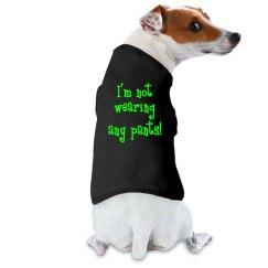 No Pants Puppy