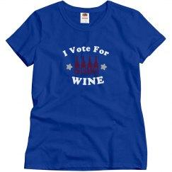 I Vote For Wine~2016