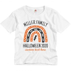 Custom Matching Family Halloween Shirts