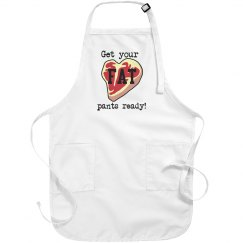 Fat pants ready apron