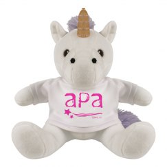 Stuffed Unicorn APA