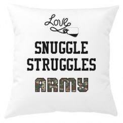 Snuggle Struggles Pillow