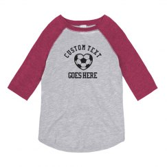 Custom Youth Soccer No Minimums