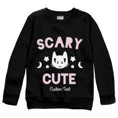 Scary Cute Kids Sweatshirt