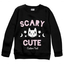 Scary Cute Kids Sweatshirt