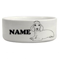 Cute Custom Pet Bowl