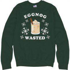Egg Nog Wasted