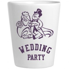 Wedding Party Shot Glass