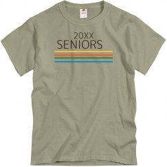 Seniors Represent Retro Tee