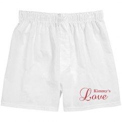 Men's Love Boxers