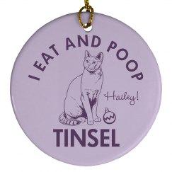 My Cat Eats Tinsel
