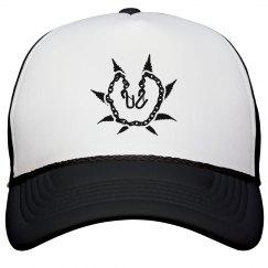 Black & White Munch Trucker hat