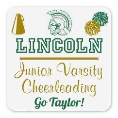 Lincoln Junior Varsity Cheerleading Magnet_Item50C-4