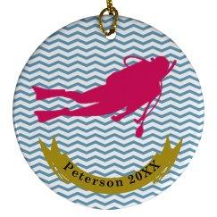 Scuba Diving Ornaments